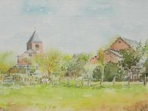 aquarel van Balgoy.